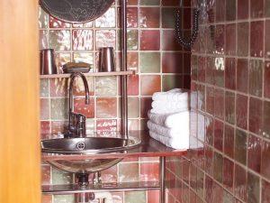 Salle de bain d'une Chambre Hotel Serre Chevalier