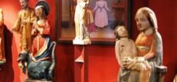 Statues du Musée sacrée de Monêtier le Bains