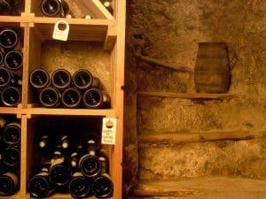 Cave à vin pour votre séminaire de l'Hotel Alliey