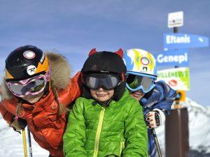 Cours de ski pour les enfants à Serre Chevalier