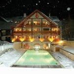 L'hiver sur la résidence Pré des Ors, Spa à Serre Chevalier