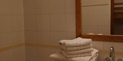 Salle de bain Appart-hotel Pre des Ors
