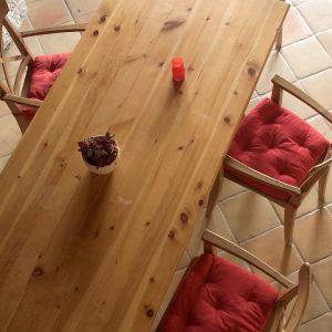 salle à manger des clochettes Maison d'hôtes Alliey & Spa
